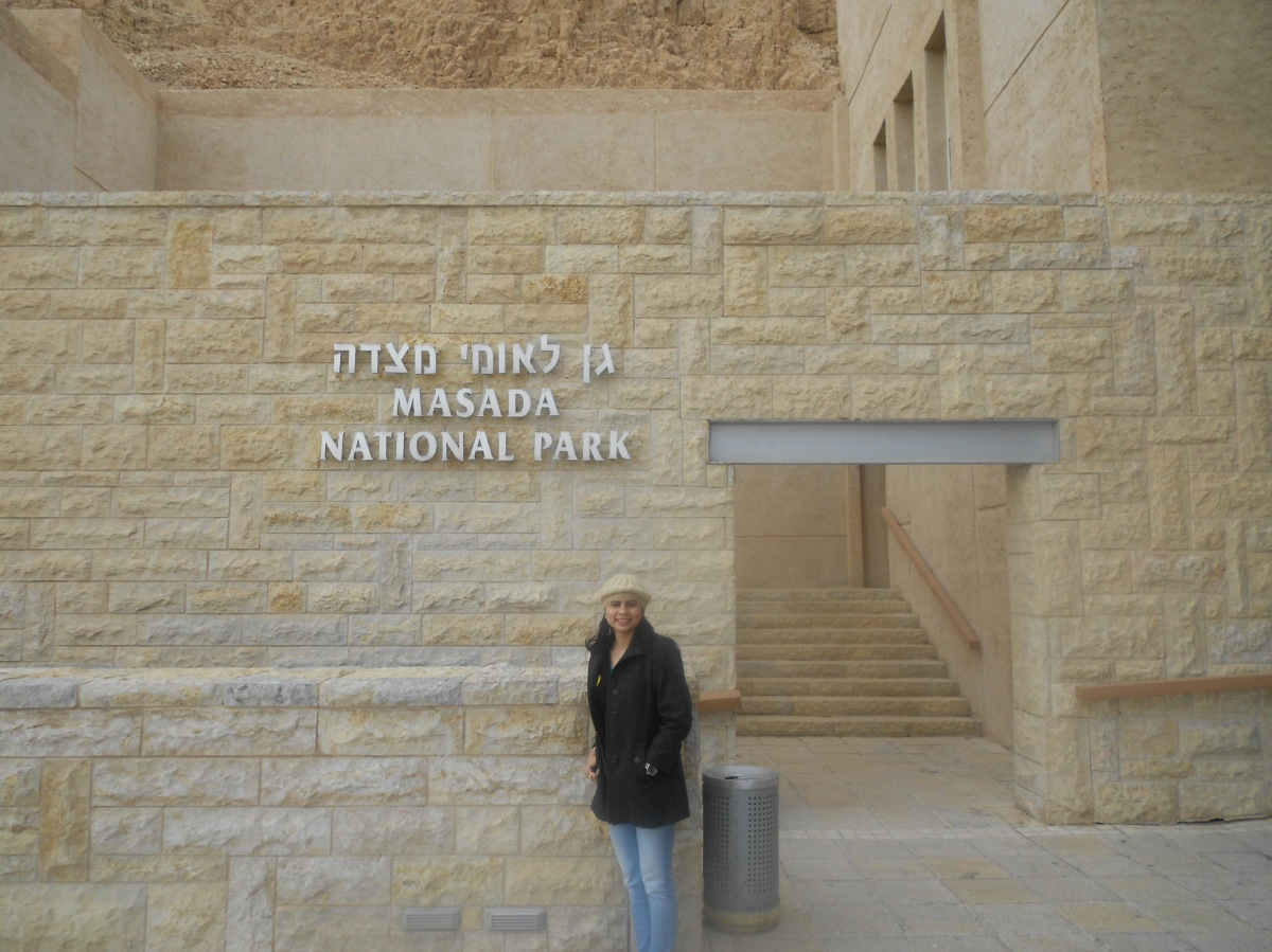 DAY 2 TO MASADA AND DEAD SEA-ISRAEL