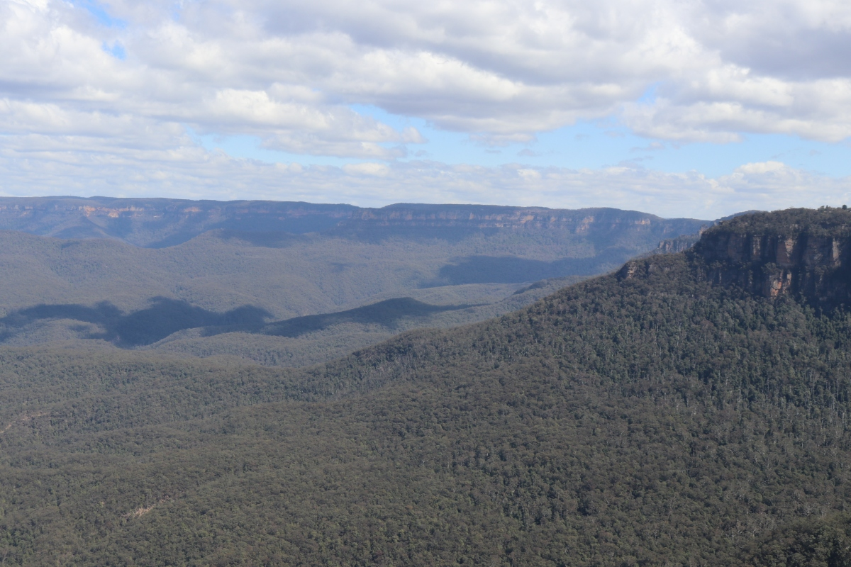 BLUE MOUNTAINS-THE THREE SISTERS:SYDNEY