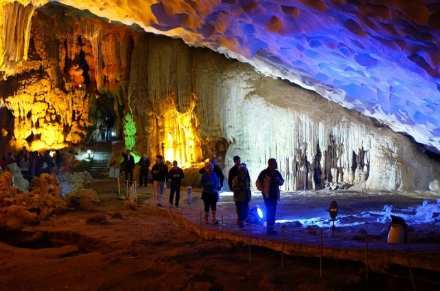 Halong bay cave