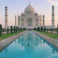 TAJ MAHAL: THE PARADISE: AGRA: INDIA