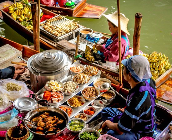 Floating-market-bangkok